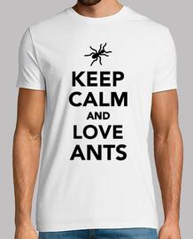 mantenere le formiche calma e amore