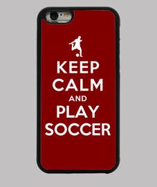 mantenga la calma y juegue futbol