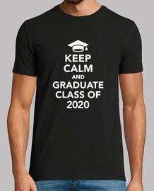 mantieni la calma e la classe di laurea