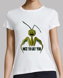 mantis religiosa,nice to eat you
