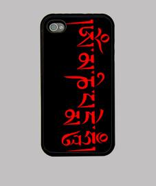 Mantra Om Mani Rojo