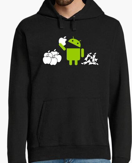 Sudadera manzanas alimenticios android
