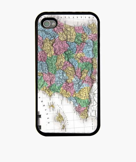 Funda iPhone Mapa de España en 1870