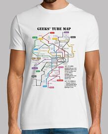 Mapa de metro friki