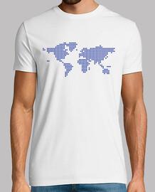 mapa de píxeles mundo