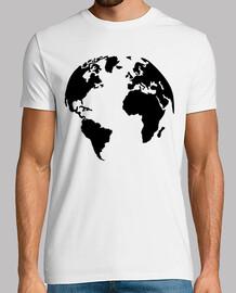 mapa del mundo de la tierra
