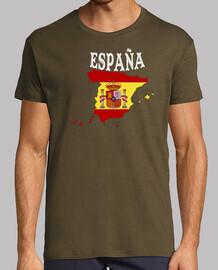 mapa España escudo