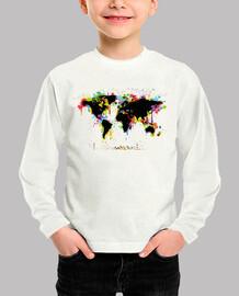Mapa Mundi / Mapa Mundo / Colores