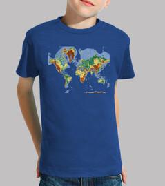 Mapa Mundi / Mundo / Profe / Geografia