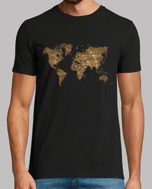 Mapa Mundi Papel