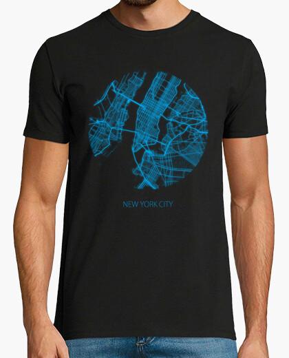 Camiseta Mapa New York