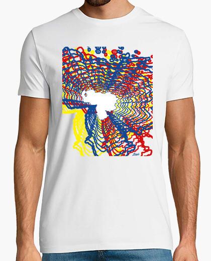 Camiseta Mapa Venezuela Color