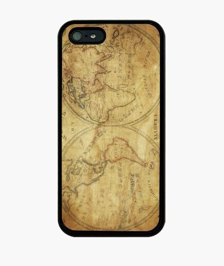 Funda iPhone Mapamundi 1833