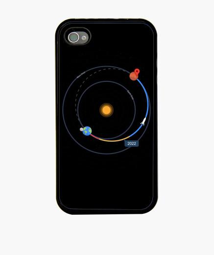 Funda iPhone mapas espaciales - direcciones de la na
