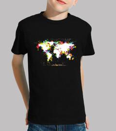 mappa del mondo / mappa del mondo / col