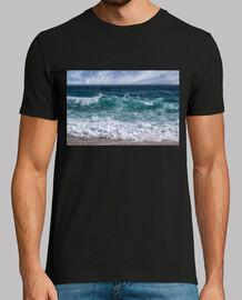 Mar agitado y bravo