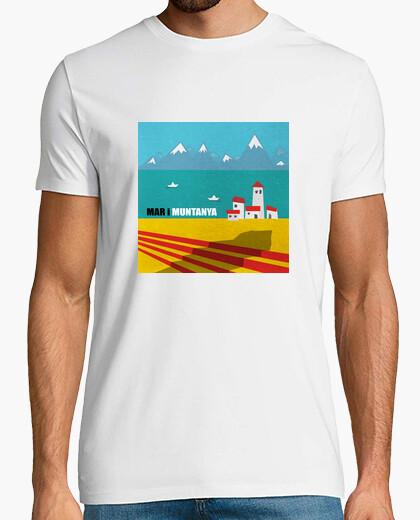 Camiseta Mar i muntanya