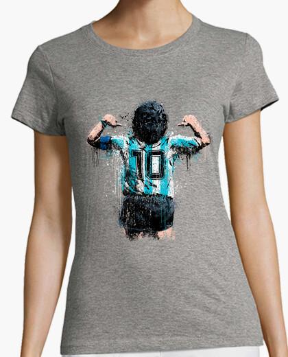 Maradona 10 camiseta chica