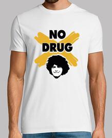 Maradona no drug no a las drogas