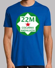 Marcha del 22M - Columna Andalucía