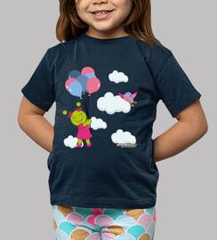 Marcianita en las nubes
