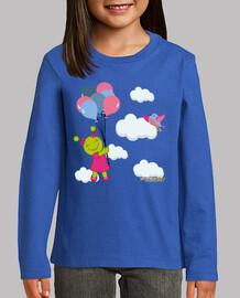 Marcianito en las nubes