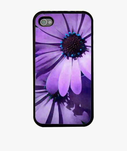 Funda iPhone margarita púrpura iphone 4