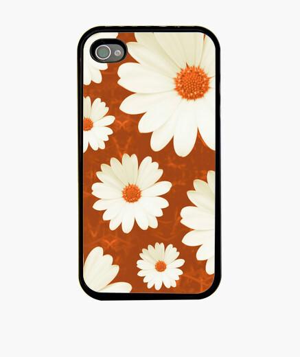 Funda iPhone margaritas - iphone 4 naranja
