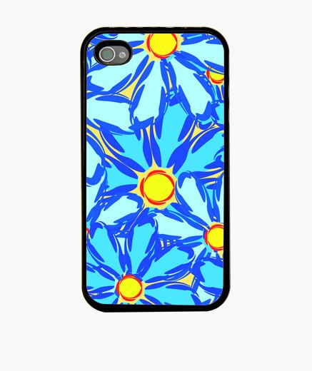 Funda iPhone Margaritas abstractas.