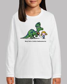 María tenía un poco de lambeosaurus