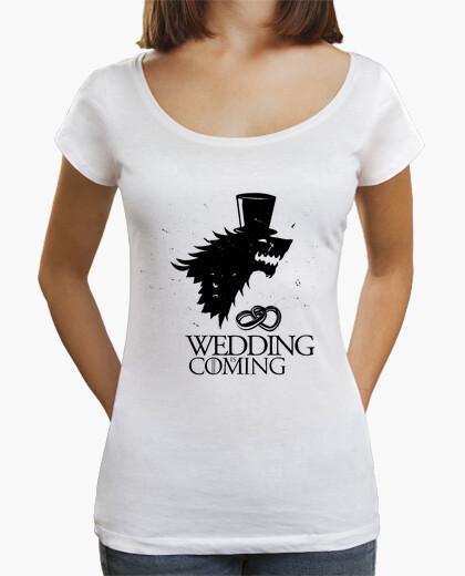 Tee-shirt mariage - mariage (vous pouvez ajouter des noms)