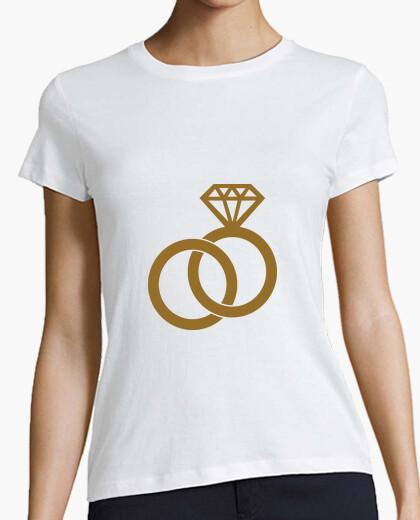 Tee-shirt Mariage / Bague / Amour