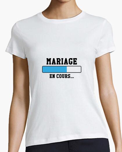 Tee-shirt Mariage en cours...