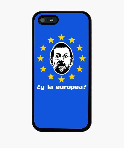 Funda iPhone Mariano Rajoy - ¿y la Europea? (iphone 4)