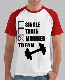 Marié à la muscuation,gym,bodybuilding