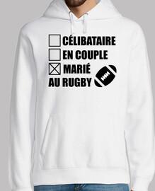 marié au rugby