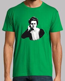 Marie Curie camiseta hombre