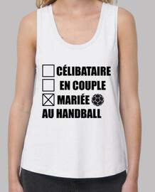 Mariée au handball,hand