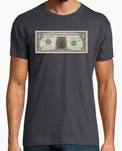 Camiseta Marihuana Dollar
