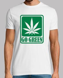 marihuana ir verde