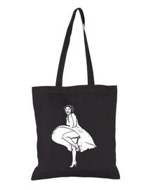 Marilyn Leia Bolsa de tela, color negro