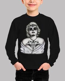 Marilyn Monroe Catrina black