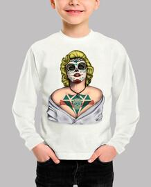 Marilyn Monroe Catrina Color !!!
