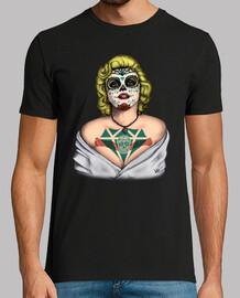Marilyn Monroe Catrina Couleur !!!