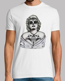 Marilyn Monroe Catrina noir et blanc !!!