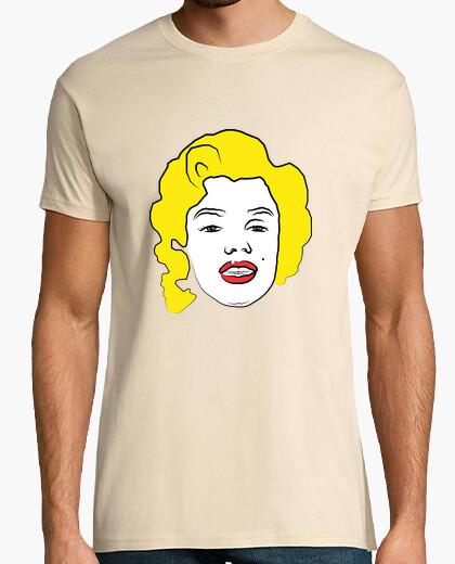 Camiseta marilyn monroe. cine