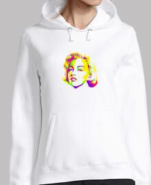 Marilyn Monroe Colors - Sudadera chica