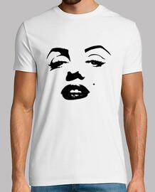 Marilyn Monroe Playera Hombre
