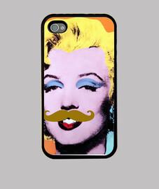 Marilyn mostache