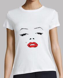 Marilyn's face